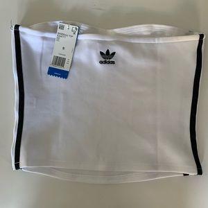 Adidas Strapless Crop Top